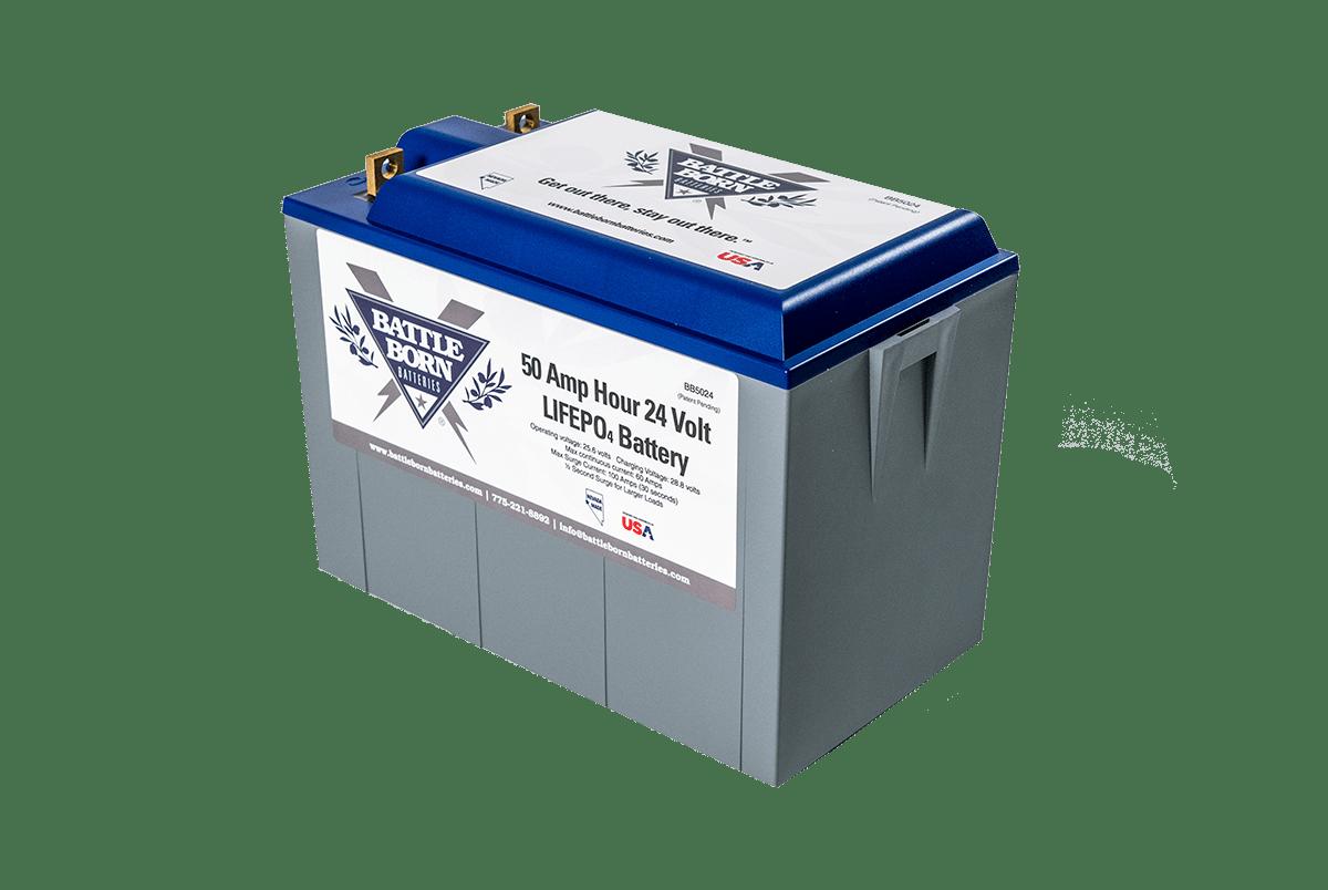 Lithium Solarbatterie LiFePO4 24V 50Ah BMS Akku Solar Batterie Wohnmobil LFP BT