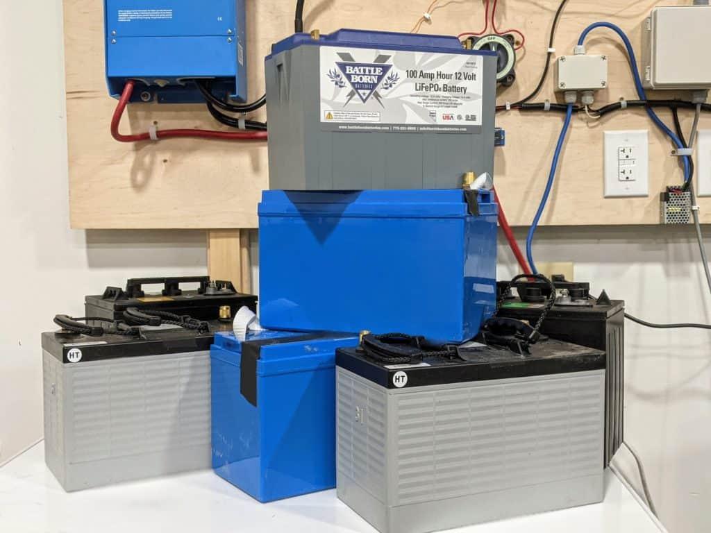 lithium vs lead acid batteries