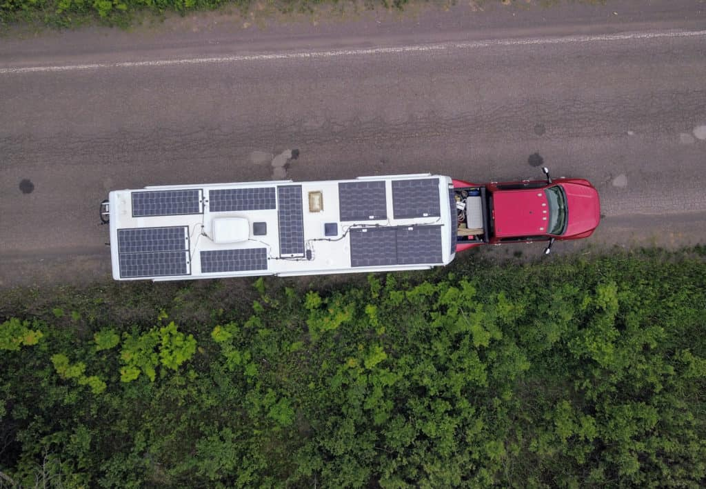 mortons on the move solar panels