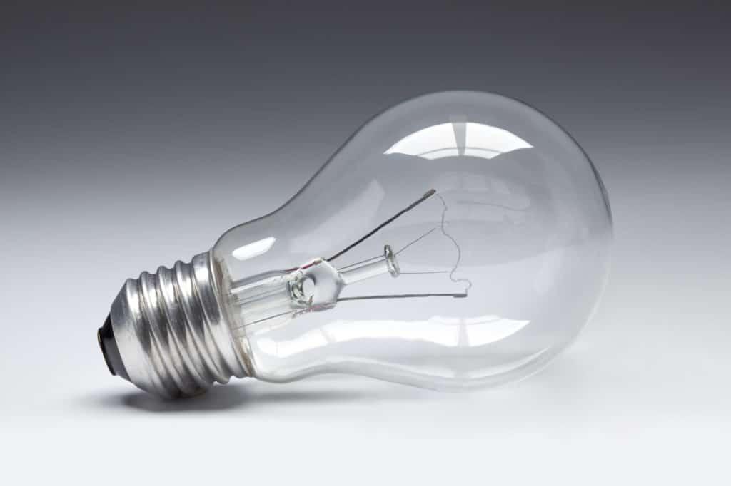 60 watt light bulb
