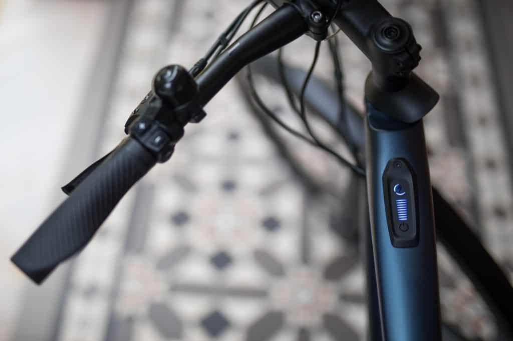 battery meter on ebike charging